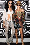 Chanel and Shanina