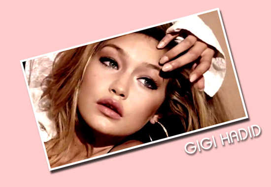 Gigi Hadid Guess 2012