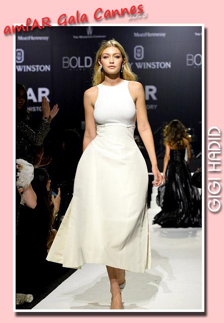 Supermodels Online Com Gigi Hadid Amfar Cannes Gala 2015