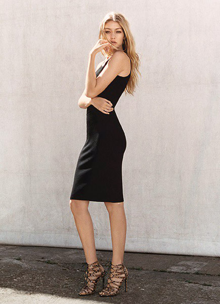 supermodelsonlinecom gigi hadid the new face of topshop